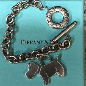 1722137d7 TIFFANY & CO SILVER SCOTTIE TERRIER DOG BRACELET